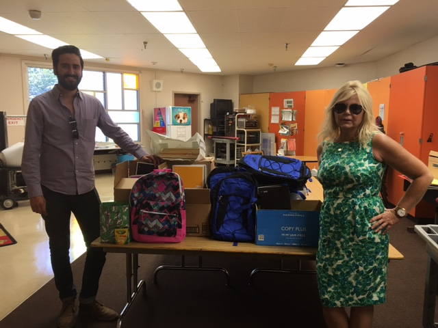 Crescent Heights Elementary Back to School Supply Drive