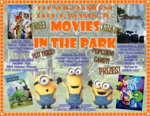 Movies in the Park at Reynier Village