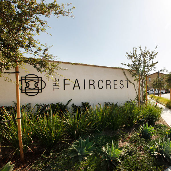 The Faircrest Completely Sold Out