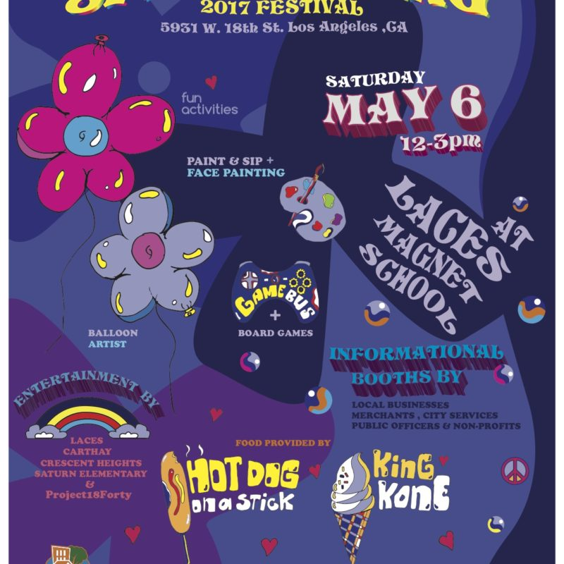 Pico Neighborhood Council Presents: Spring Fling, Saturday May 6th