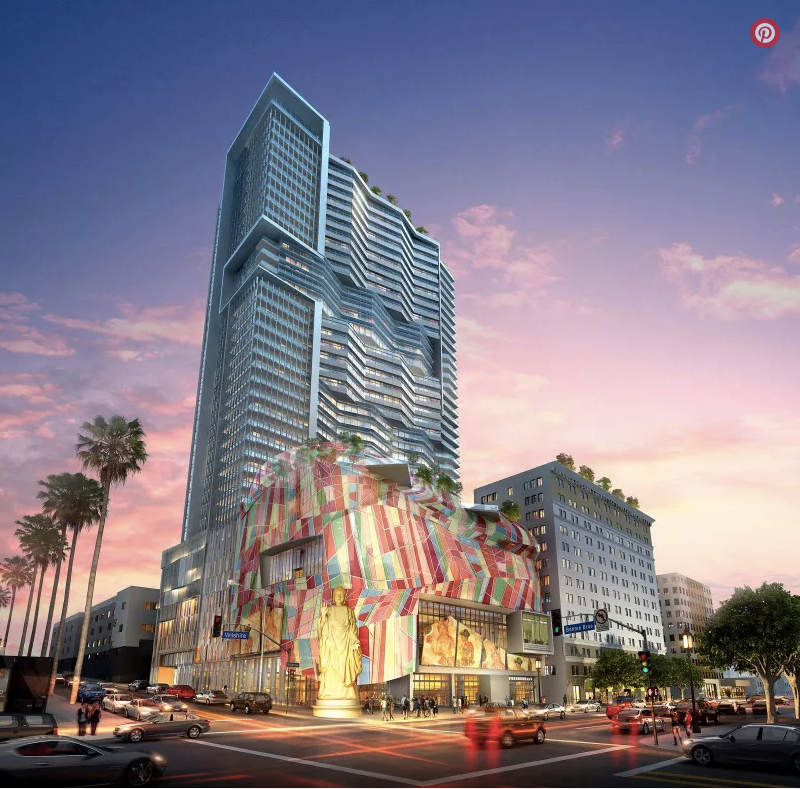 Take a look at the huge mixed use complex planned next to MacArthur Park