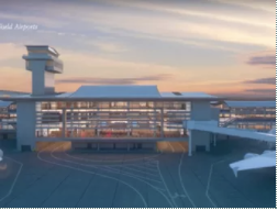 Take a look at LAX's new Midfield Satellite Concourse, now under construction