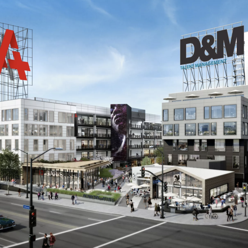 Netflix keeps gobbling up Hollywood office space