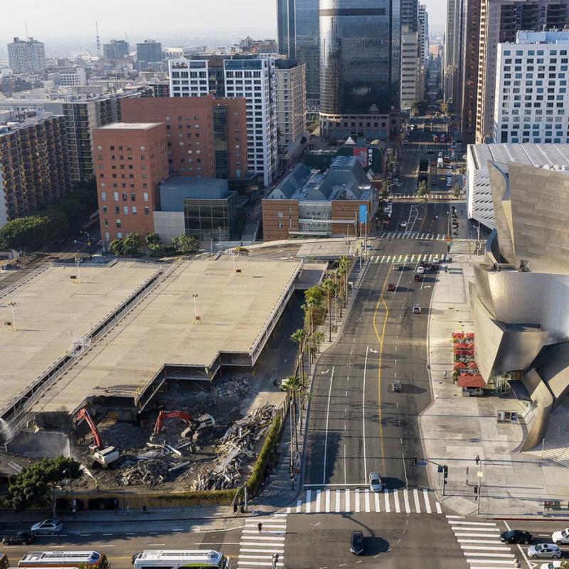 Demolition underway for Gehry-designed Grand Avenue development