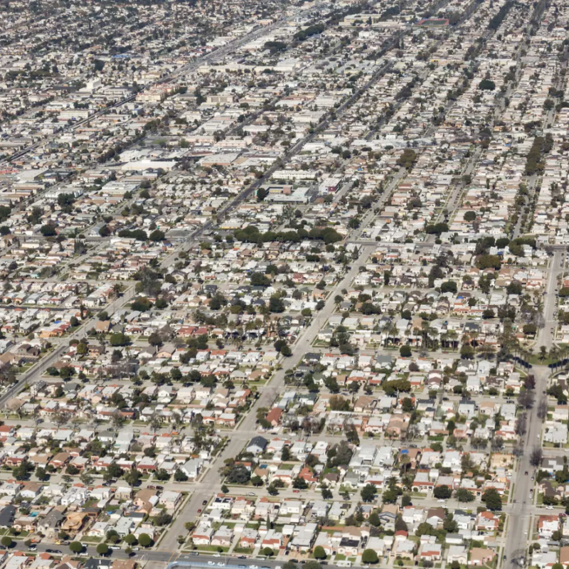 Watch the strange growth of Los Angeles, from 1877 to 2000