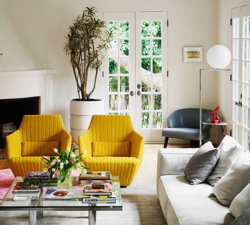 A Music and Fashion Industry Insider's Art-Filled West Hollywood Home