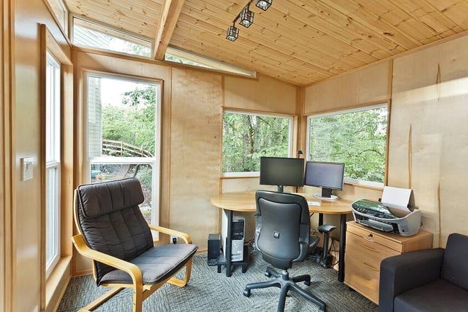 Americans are buying, building, converting backyard sheds into home offices