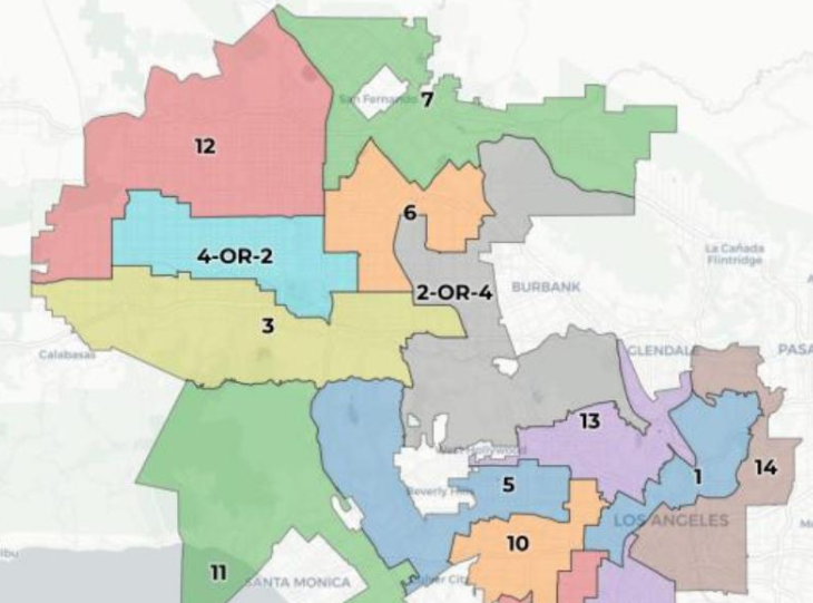 Public Input Phase Begins on City Council Redistricting Draft Plan K 2.5